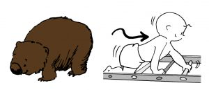 GymbaROO BabyROO Sydney West NSW Wombats Mobile BabyROO Crawling and Creeping Babies Classes Illustration